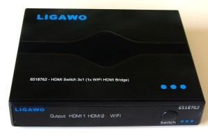 Ligawo HDMI Switch 3in1 mit WiFi
