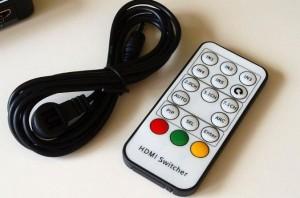 Ligawo 6518857 HDMI Switch 3x1 4K 3D automatisch / IR