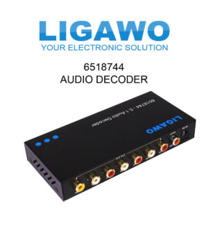 Ligawo 6518744 5.1 Audio Decoder