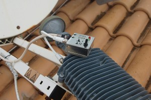 Ligawo 6552512 Satfinder DVB-S/S2 LED Anzeige für Pegel Satebene Frequenzband Signalton