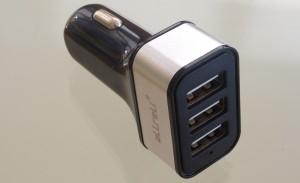 Allreli 3-fach KFZ USB Netzteil mit 37 Watt Leistung