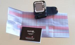 Handgelenk-Blutdruckmessgerät smartLAB easy nG
