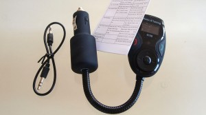 Victsing® FM Transmitter mit Freisprecheinrichtung, Geräuschunterdrückung & Bluetooth. Flexibel einstellbar und für jedes Auto geeignet