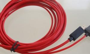 MAXAH® 2m MHL Micro USB zu HDMI Adapterkabel