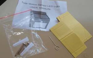 Amir® Solarleuchte mit Bewegungsmelder für den Outdoor Bereich