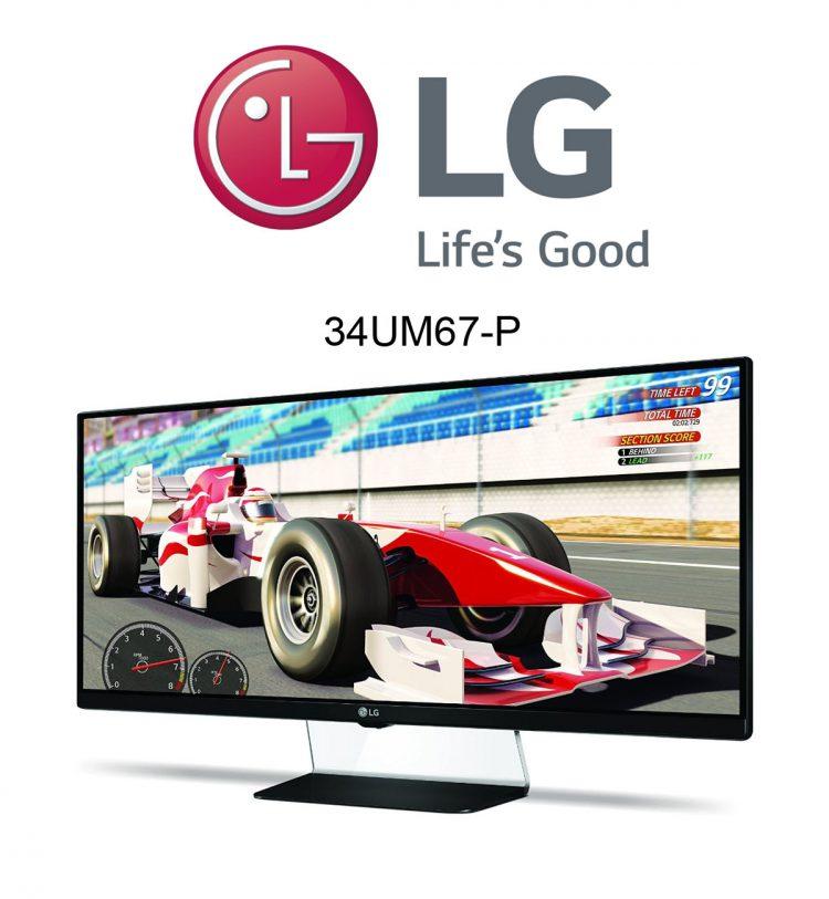 LG 34UM65-P 21:9 34 Zoll Monitor