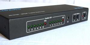 Ligawo 6518765 SPDIF Toslink Matrix 6x2 Audio Verteiler