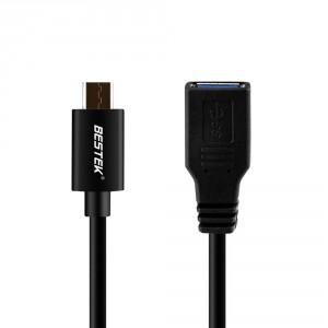 BESTEK® USB Type C zu USB 3.0 Adapter Kabel für Apple MacBook und andere Geräte mit USB Type C Anschluss