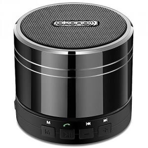 Rokono E10 Bass und Mini Bluetooth Lautsprecher Titanium Schwarz