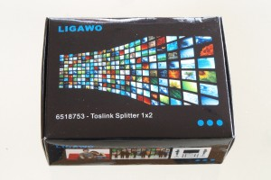 Ligawo 6518753 Toslink Audio Splitter