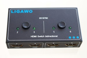 Ligawo 6518760 HDMI Switch