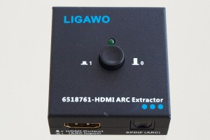 Ligawo 6518761 HDMI Audio Extractor