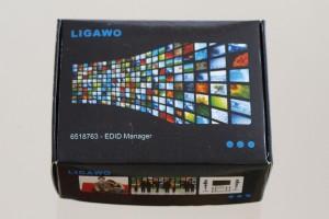 Ligawo 6518763 HDMI EDID Manager mit Audio und Video Steuerung