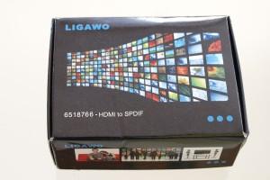 Ligawo 6518766 HDMI Audio Extractor zu Toslink