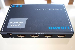 Ligawo 6518769 HDMI Switch (4:2 / 2x 2:1, 1080p, 3D, UHD)