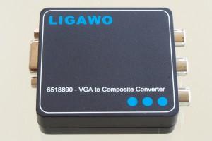 Ligawo 6518890 VGA zu Composite / Scart Konverter