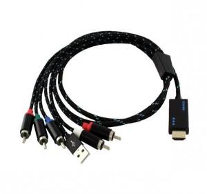 Ligawo 6518930 HDMI zu YPbPr Component Kabel