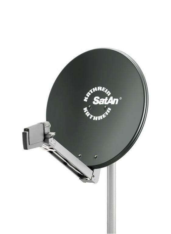 Die Kathrein CAS80 SAT Antenne Parabolspiegel
