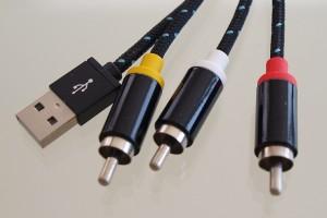 Ligawo 6518935 HDMI zu Composite Adapterkabel