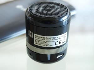 Ednet BoomPill Bluetooth Lautsprecher mit NFC