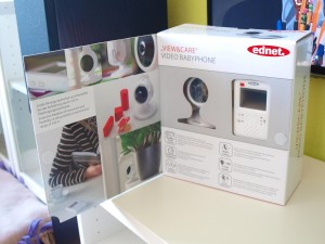 Ednet Viw & Care Video Babyphone mit Touchscreen