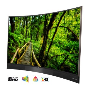 Der neue TCL S88 65 Zoll Curved 3D Smart TV