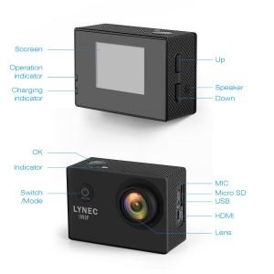 Die neue LYNEC AC65 Full HD 1080P Action Cam im Test