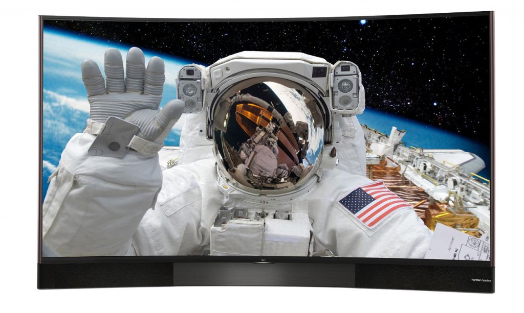 Der TCL U55S8806DS UHD Flachbildfernseher mit Harman/Kardon Soundsystem