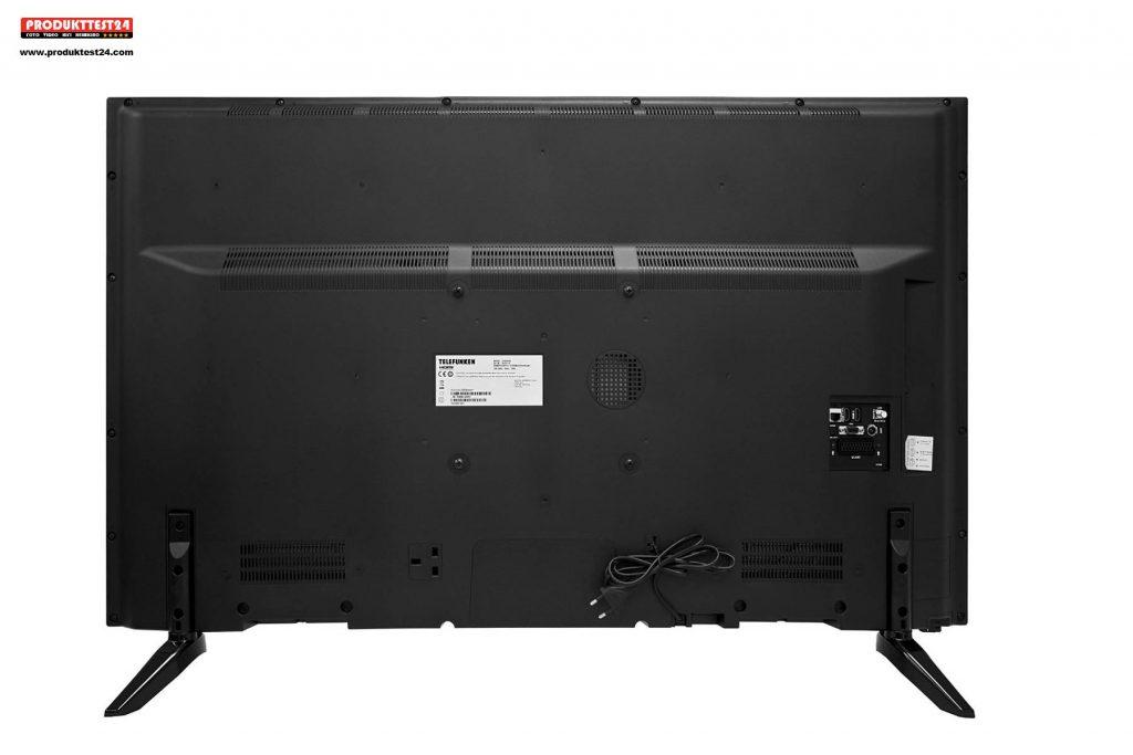 der telefunken xf43a401 full hd flachbild tv im test. Black Bedroom Furniture Sets. Home Design Ideas