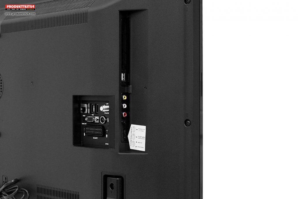 Telefunken XF43A401 Full HD Flachbildfernseher mit SmartTV