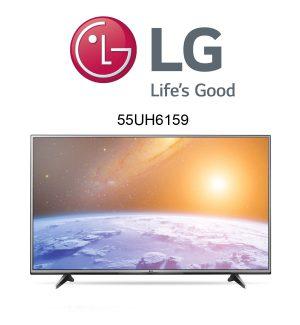 Der neue LG 55UH6159 Ultra HD Fernseher im Test