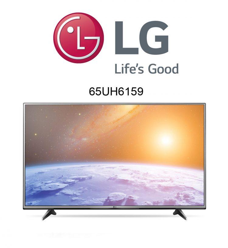 Der neue LG 65UH6159 Ultra HD Fernseher im Test