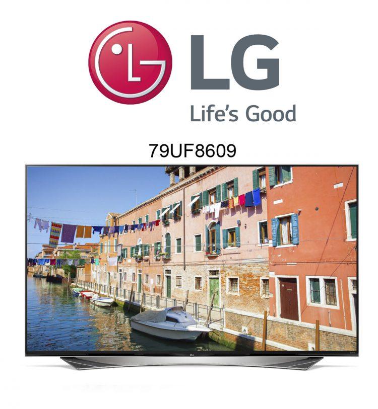 Der LG 79UF8609 79 Zoll Ultra HD 3D Flachbildfernseher im Test