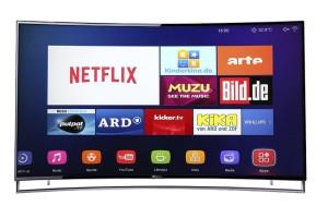 65 Zoll Hisense LTDN65XT910 Ultra HD Curved Fernseher