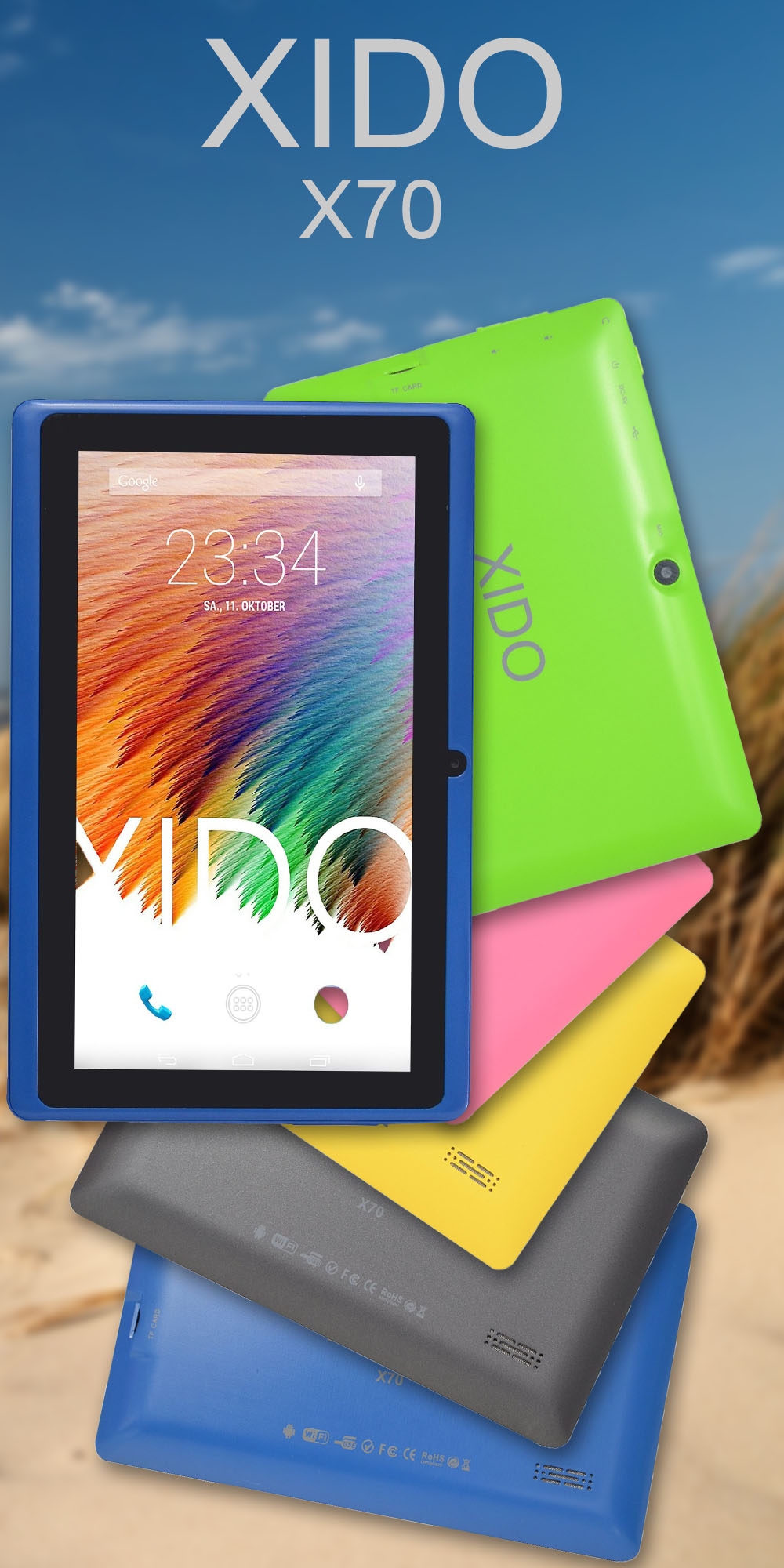 XIDO X70 Tablet