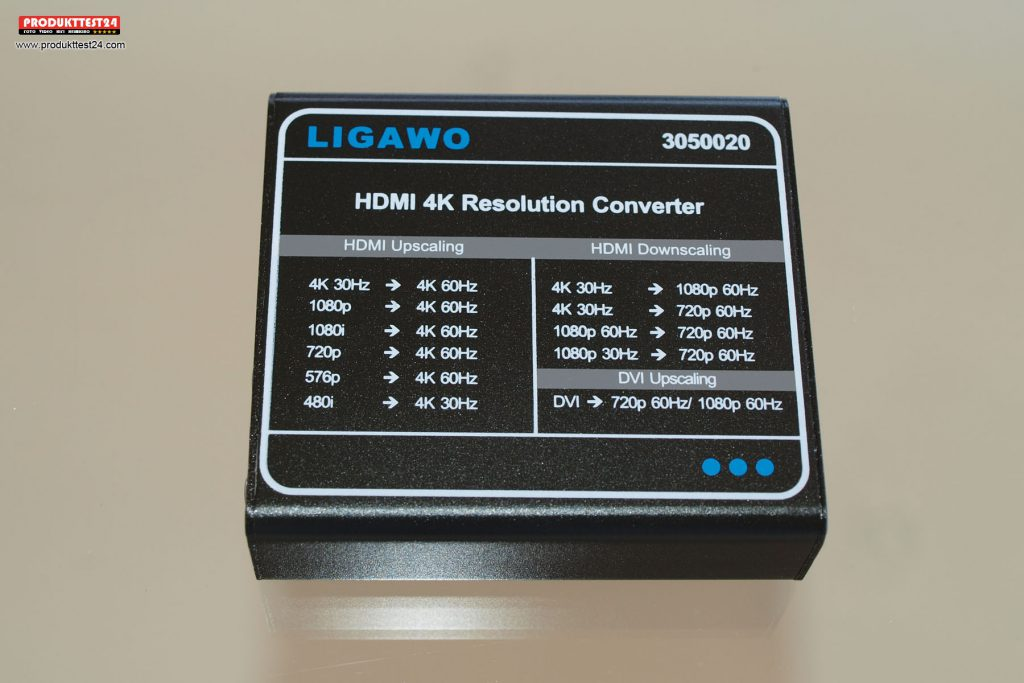 Ligawo 3050020 4K HDMI Scaler