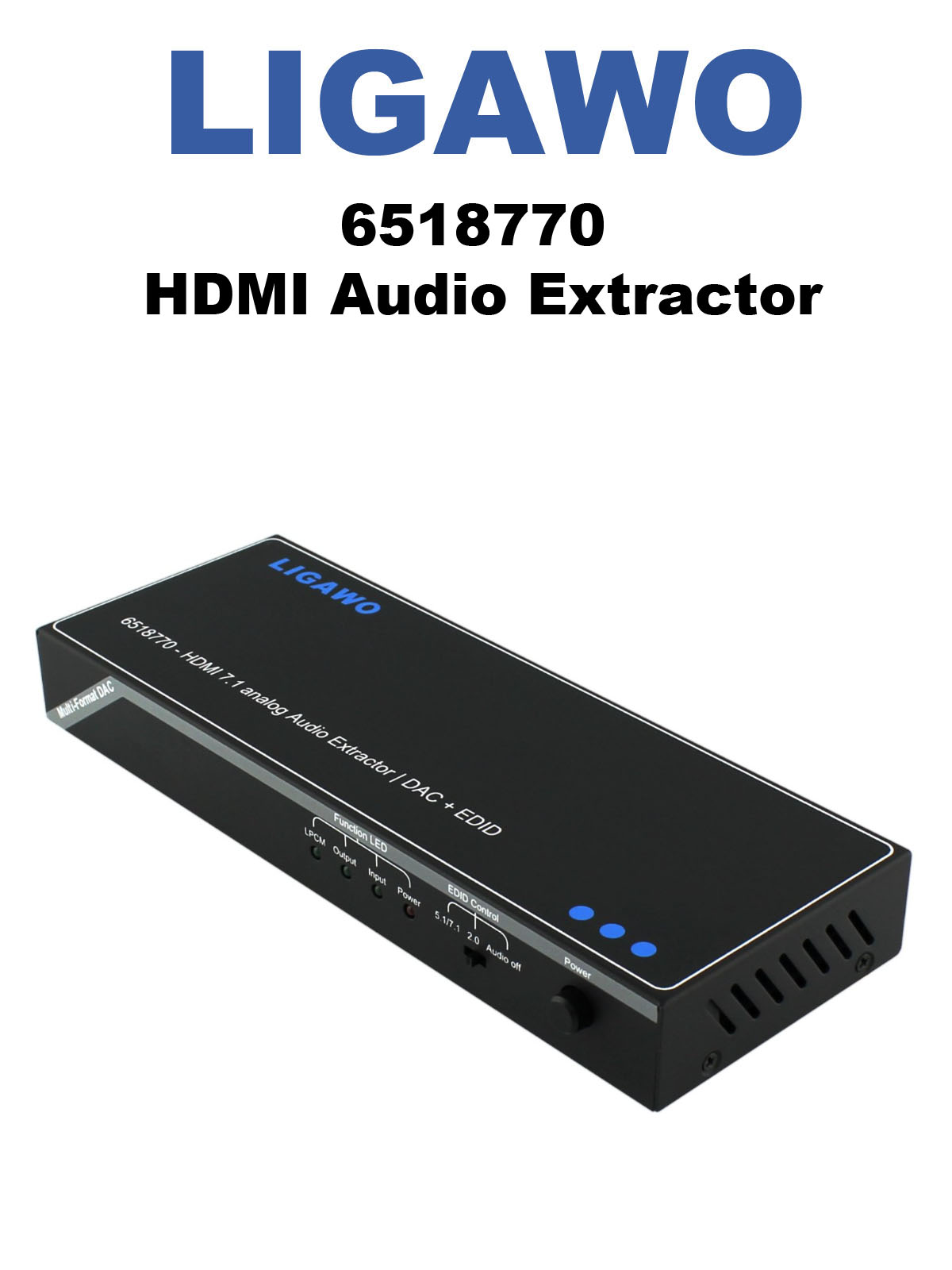 Ligawo 6518770 HDMI Audio Extractor