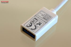 Ligawo 6518940 USB 3.1C zu USB 3.1A Adapterkabel