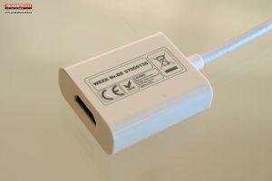 Ligawo 6518956 USB 3.1 C zu HDMI Adapterkabel