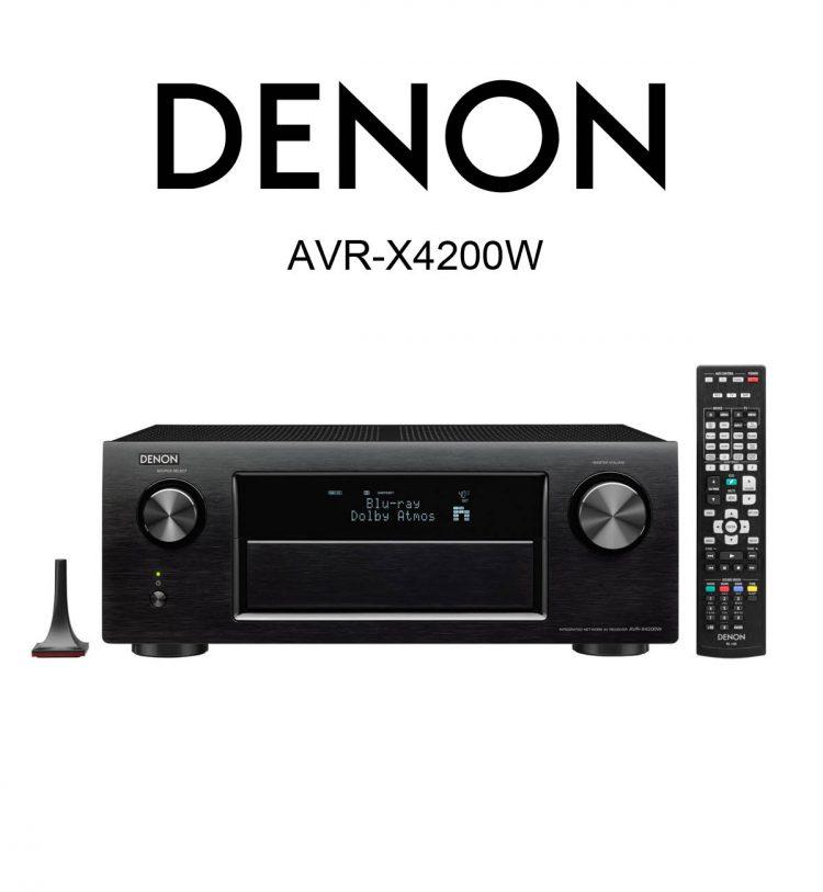 DENON AVR-X4200W 7.2 AV Receiver