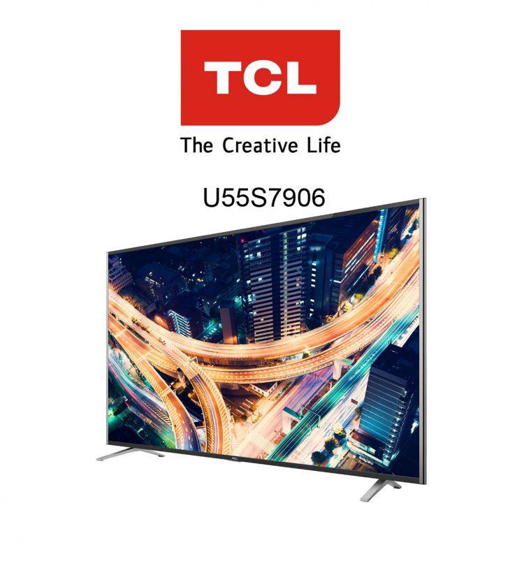 TCL U55S7906 Ultra HD 55 Zoll Flachbildfernseher