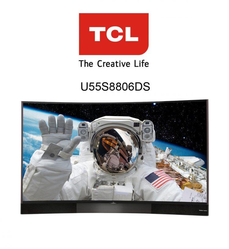 TCL U55S8806DS Ultra HD Curved Flachbildfernseher