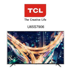 TCL U65S7906 65 Zoll Ultra HD Flachbildfernseher