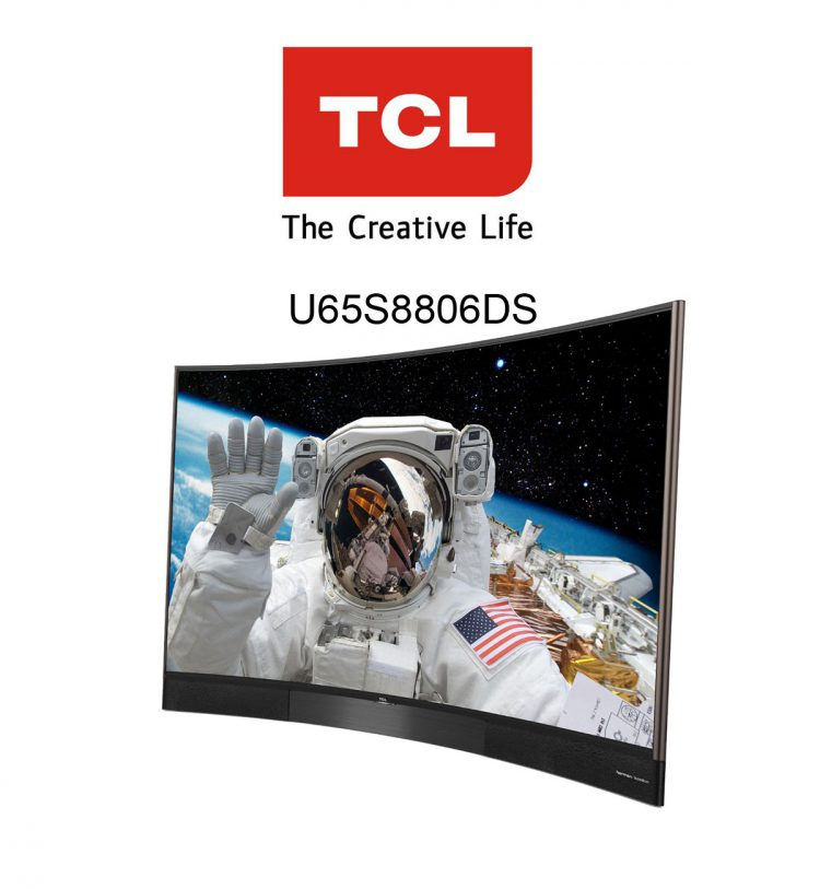TCL 65 Zoll Curved 3D Smart TV U65S8806DS