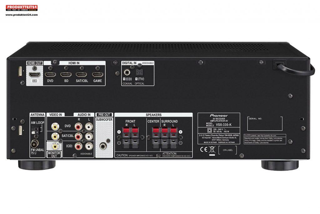 Pioneer VSX-330K AV Receiver im Test
