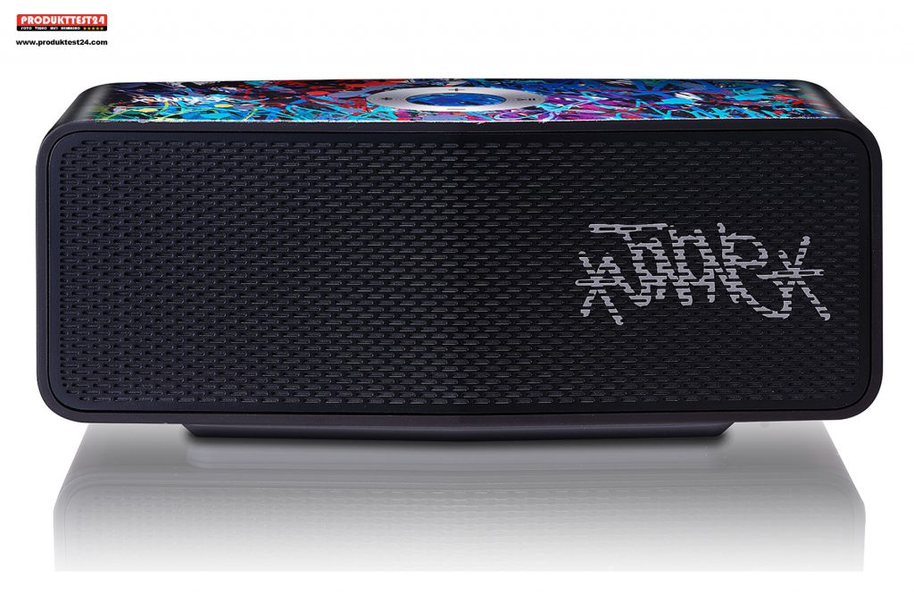 LG Art #53 Bluetooth Lautsprecher und Kunstobjekt mit dem Design von JonOne