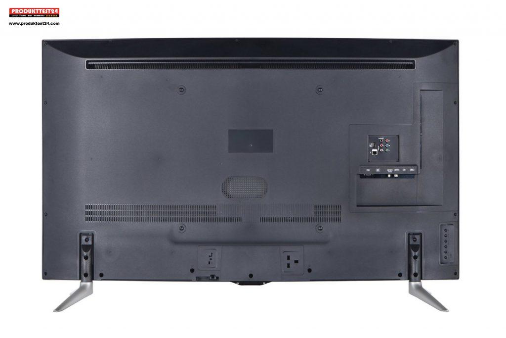 Telefunken Fernseher Vestel : Panasonic tx 55crw454 curved 4k ultra hd flachbildfernseher im test
