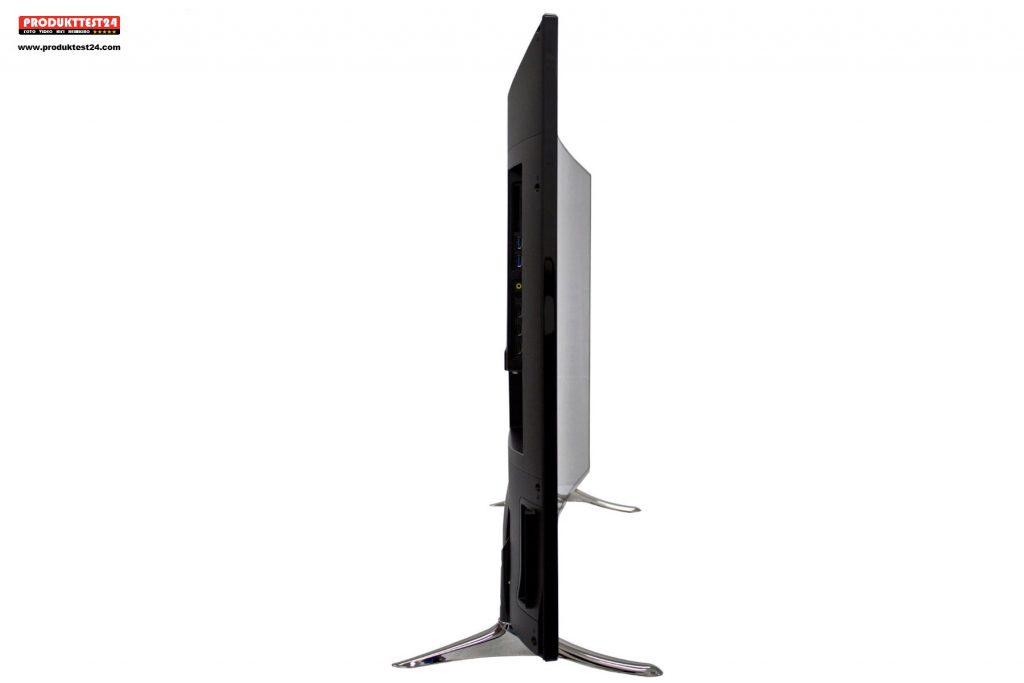 Der Panasonic TX-55CRW454 Curved 4K Ultra HD Flachbildfernseher im Test