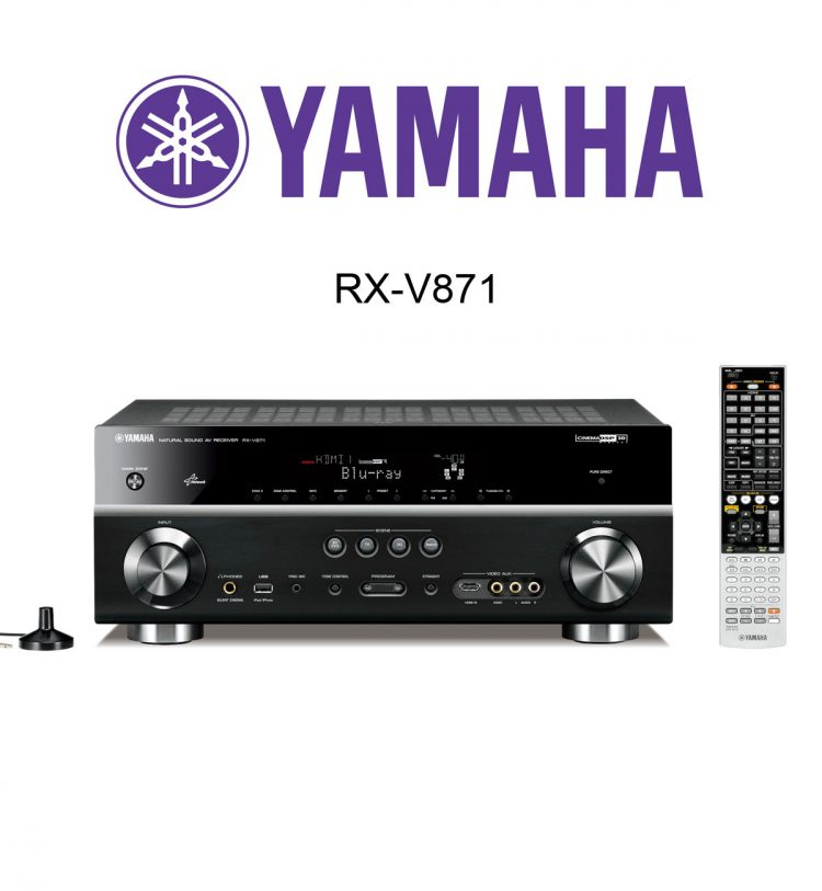 der neue yamaha rx v781 av receiver im test geeignet f r. Black Bedroom Furniture Sets. Home Design Ideas