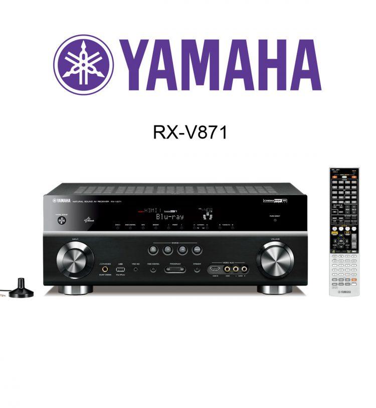 Der neue Yamaha RX-V781 AV-Receiver im Test. Geeignet für 4K@60Hz, HDR, BT2020 und HDCP2.2